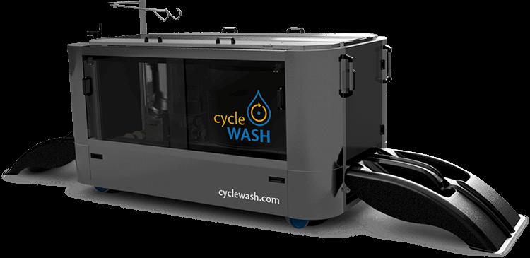 Fahrradwaschanlage cycleWASH
